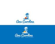Ana Carolina Fine Art Gallery Logo - Entry #69