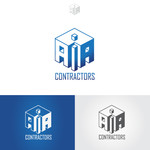 AIA CONTRACTORS Logo - Entry #75