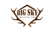 Big Sky Custom Steel LLC Logo - Entry #68