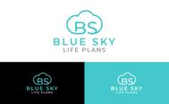Blue Sky Life Plans Logo - Entry #309