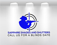 Sapphire Shades and Shutters Logo - Entry #59