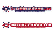 ComingToAmericaBaseball.com Logo - Entry #24