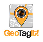 Android/iOS GPS/Photo tagging App Icon Logo - Entry #82
