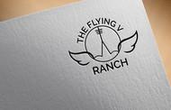 The Flying V Ranch Logo - Entry #47
