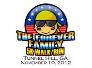 The Forever Family 5K Logo - Entry #9