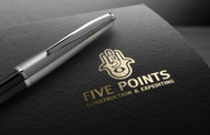Five Points Construction & Expediting Logo - Entry #13