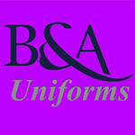 B&A Uniforms Logo - Entry #50