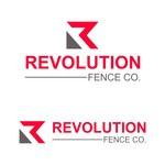 Revolution Fence Co. Logo - Entry #392