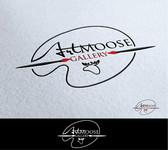 ArtMoose Gallery Logo - Entry #47