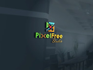 PixelFree Studio Logo - Entry #10