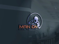 Man on fire welding Logo - Entry #28