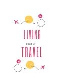 Living Room Travels Logo - Entry #95