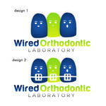 Wired Orthodontic Laboratory Logo - Entry #32