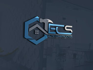 Elite Construction Services or ECS Logo - Entry #114