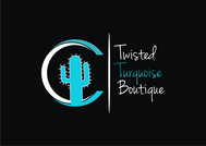 Twisted Turquoise Boutique Logo - Entry #193