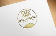 Rock Ridge Wealth Logo - Entry #111