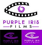 Purple Iris Films Logo - Entry #58