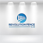 Revolution Fence Co. Logo - Entry #98