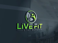 Live Fit Stay Safe Logo - Entry #105