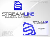 STREAMLINE building & carpentry Logo - Entry #139