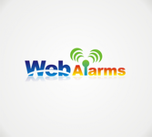 Logo for WebAlarms - Alert services on the web - Entry #20