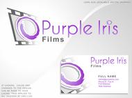 Purple Iris Films Logo - Entry #109