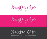 Drifter Chic Boutique Logo - Entry #372