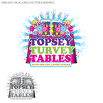 Topsey turvey tables Logo - Entry #13
