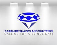 Sapphire Shades and Shutters Logo - Entry #203