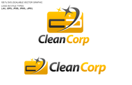 B2B Cleaning Janitorial services Logo - Entry #47