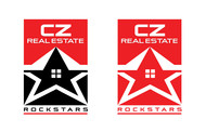 CZ Real Estate Rockstars Logo - Entry #72
