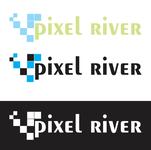 Pixel River Logo - Online Marketing Agency - Entry #38