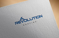 Revolution Roofing Logo - Entry #498