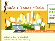 Sasha's Social Media Logo - Entry #165