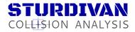 Sturdivan Collision Analyisis.  SCA Logo - Entry #211