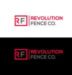 Revolution Fence Co. Logo - Entry #144