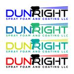 Dun Right Spray Foam and Coating LLC Logo - Entry #72