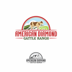 American Diamond Cattle Ranchers Logo - Entry #48