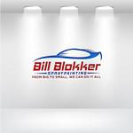 Bill Blokker Spraypainting Logo - Entry #75