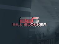 Bill Blokker Spraypainting Logo - Entry #218