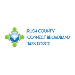 Rush County Connect Broadband Task Force Logo - Entry #73