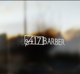 417 Barber Logo - Entry #38
