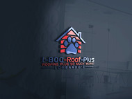 1-800-Roof-Plus Logo - Entry #137