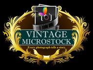 Vintage Microstock Logo - Entry #70