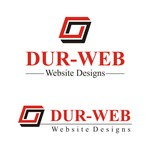 Durweb Website Designs Logo - Entry #162