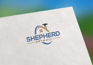 Shepherd Drywall Logo - Entry #109