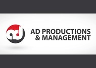 Corporate Logo Design 'AD Productions & Management' - Entry #1