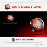3D Sign Solutions Logo - Entry #13
