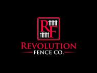 Revolution Fence Co. Logo - Entry #337