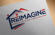 Reimagine Roofing Logo - Entry #126